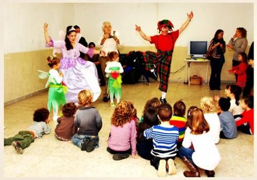cantajuegos infantiles en Barcelona