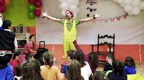 Payasos a domicilio en Barcelona para fiestas infantiles