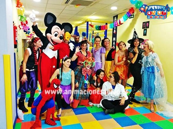 animadores para fiestas infantiles Barcelona