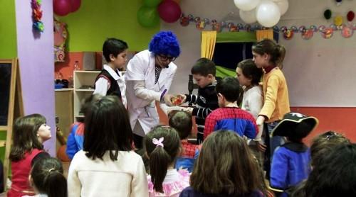 Fiesta infantil gratuita en  Barcelona