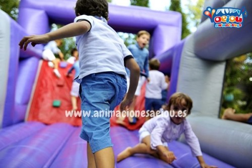 Animaciones fiestas infantiles verano Barcelona