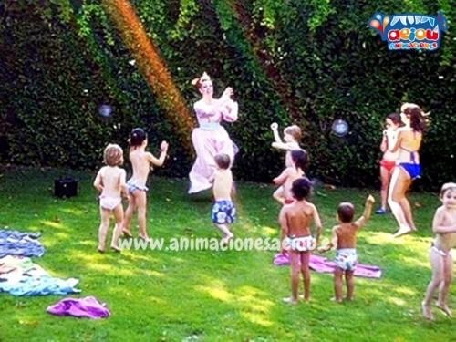Animaciones para fiestas infantiles de verano en Barcelona