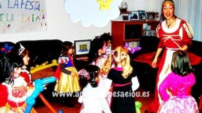 Animadores temáticos para fiestas de princesas en Barcelona