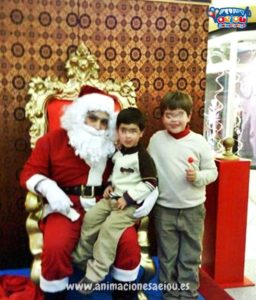 Contrata a Papá Noel a domicilio en Girona