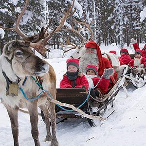 Papá Noel vive en Laponia