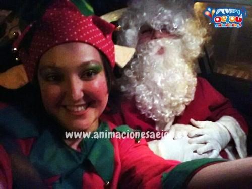 Visita de Papá Noel en Girona