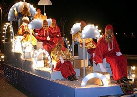 Cabalgata de Reyes para Barcelona 2016