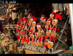 Tradición del caga tió de nadal