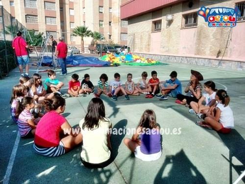 Fiestas infantiles en urbanizaciones