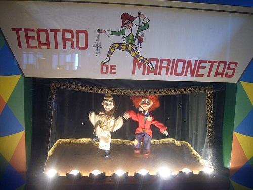 Las marionetas llevan diferencias entre los guiñoles