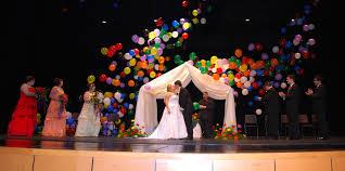 Lluvias para decoración con globos