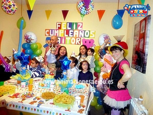 Animadores para fiestas de cumpleaños infantiles en Tarragona