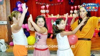 Espectáculos infantiles de fiestas de fin curso en Barcelona