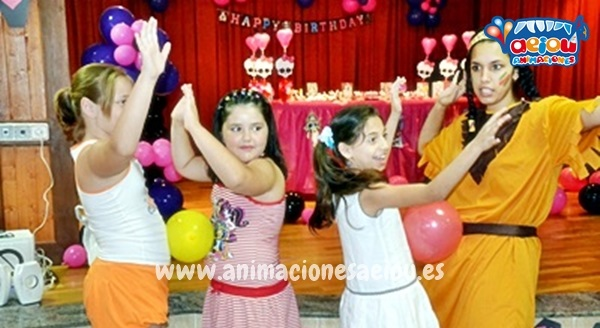 animación fiestas cumpleaños infantiles girona