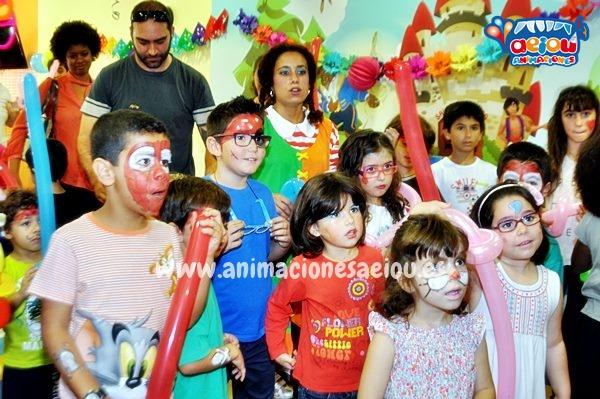 fiestas infantiles a domicilio en Pamplona
