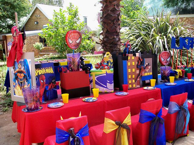 pasos decorar fiesta de cumpleaños infantil