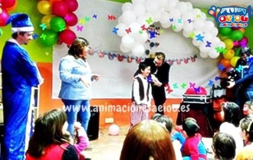 Animadores magos payasos comuniones en Tarragona