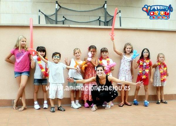 Animaciones infantiles para bodas y bautizos en Girona