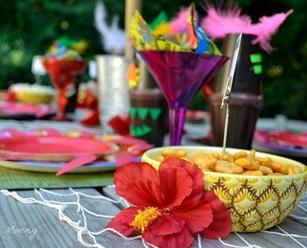 Fiestas hawaiana infantil algunas ideas y decoración