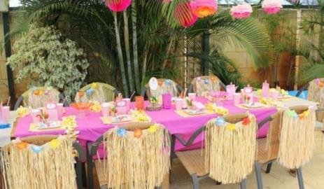 Fiestas hawaiana infantil algunas ideas y decoracion