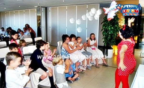 juegos entretener niños boda