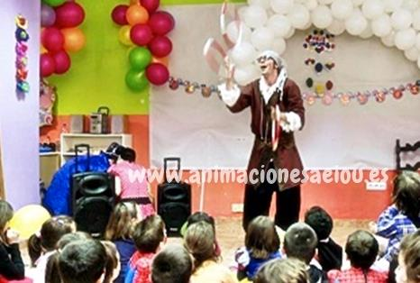 Payasos fiestas infantiles Tarragona
