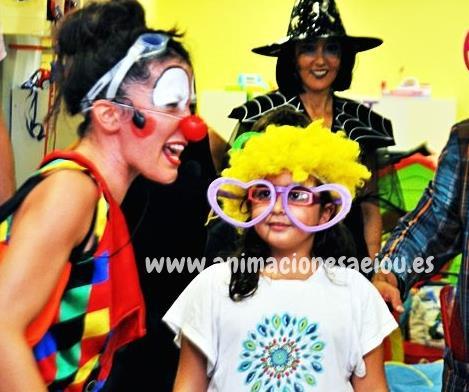 payasos para fiestas Lleida