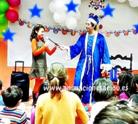 Espectáculo de magia para fiestas infantiles en Tarragona