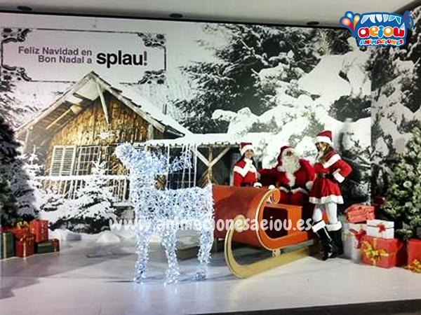 La magia de Papá Noel en Barcelona