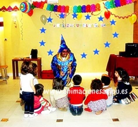 Magos para cumpleaños infantiles Lleida