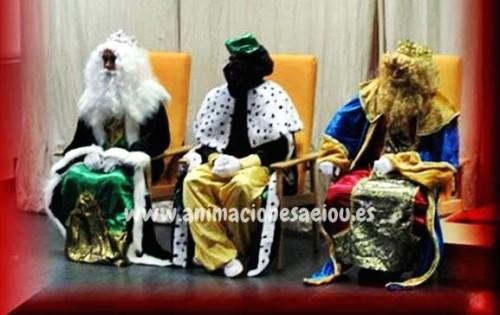 Reyes Magos a domicilio para fiestas infantiles en Girona