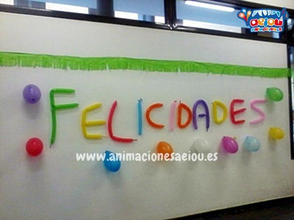 Decoración de fiestas infantiles en Girona