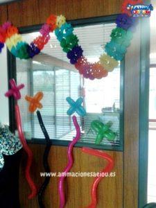 Decoración de fiestas infantiles en Lleida a domicilio