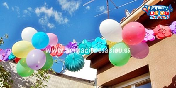 Decoración de fiestas infantiles en Tarragona a domicilio