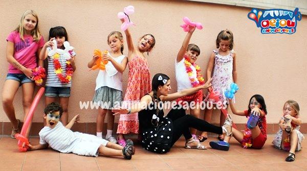 Animadores para fiestas infantiles en Granollers