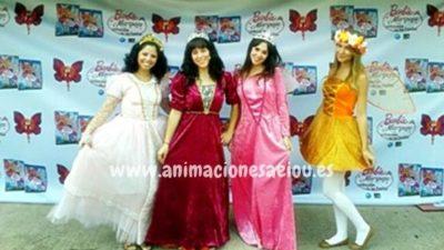 Organizar fiestas temáticas de princesas en Barcelona