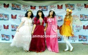 Fiestas tematicas de princesas