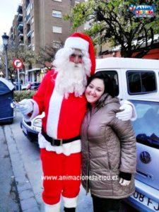 Papá Noel a domicilio en Lleida