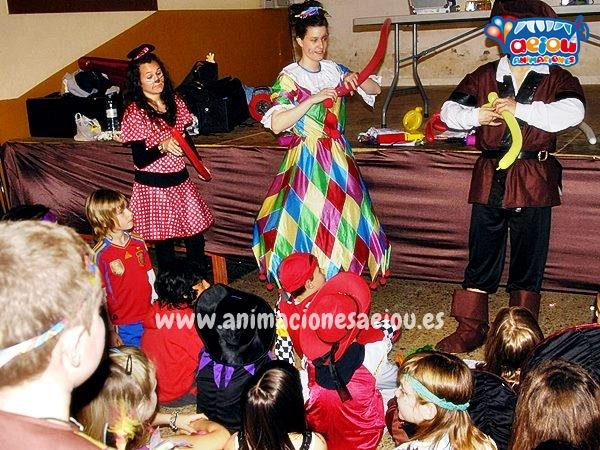 Opciones de presentaciones para fiestas de cumpleaños infantiles y comuniones en Badalona