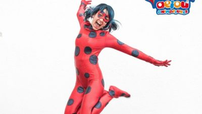 Fiestas infantiles temáticas de lady bug en Barcelona
