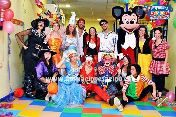 Animadores, magos y payasos en Olot