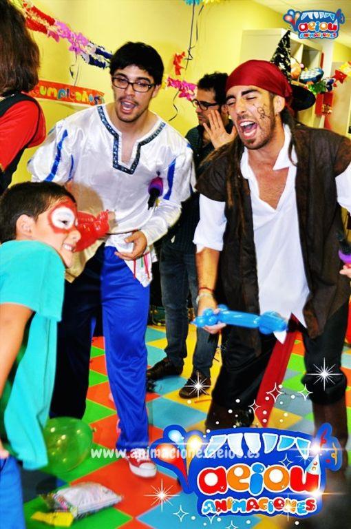 Animaciones para fiestas de cumpleaños infantiles y comuniones en Cornellá
