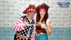Animadores fiestas cumpleaños infantiles Barcelona Piratas
