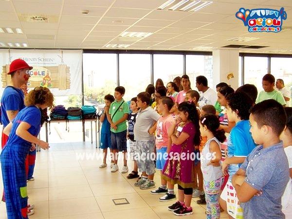 Animaciones para fiestas de cumpleaños infantiles y comuniones en Granollers