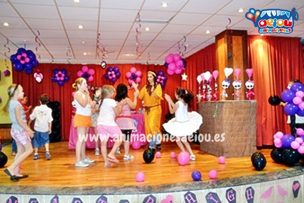 Animaciones para fiestas de cumpleaños infantiles y comuniones en Mollerussa