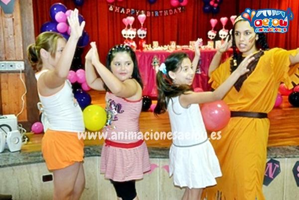 Animación de cumpleaños infantiles en Mollet del Vallès