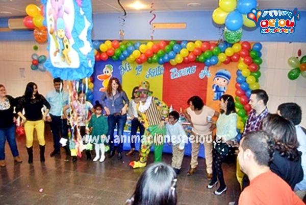 Animaciones para fiestas de cumpleaños infantiles y comuniones en Lloret de Mar