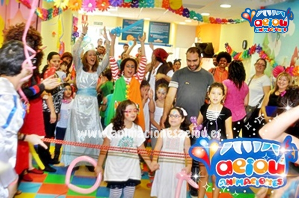 Animaciones de cumpleaños infantiles en Lloret de Mar
