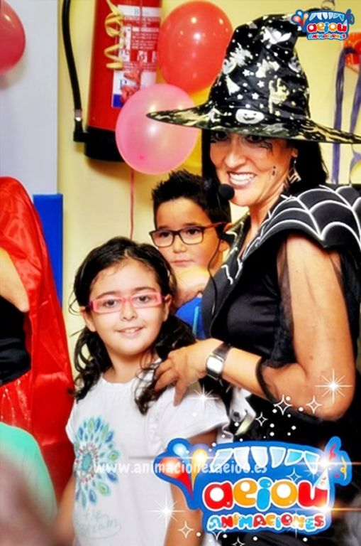 Animadores para cumpleaños infantiles en Olot