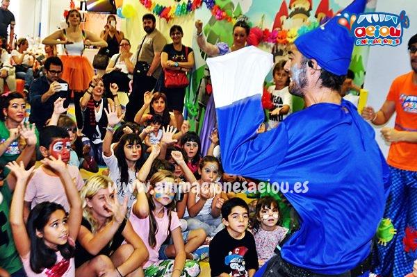 Animaciones de cumpleaños infantiles en Figueres